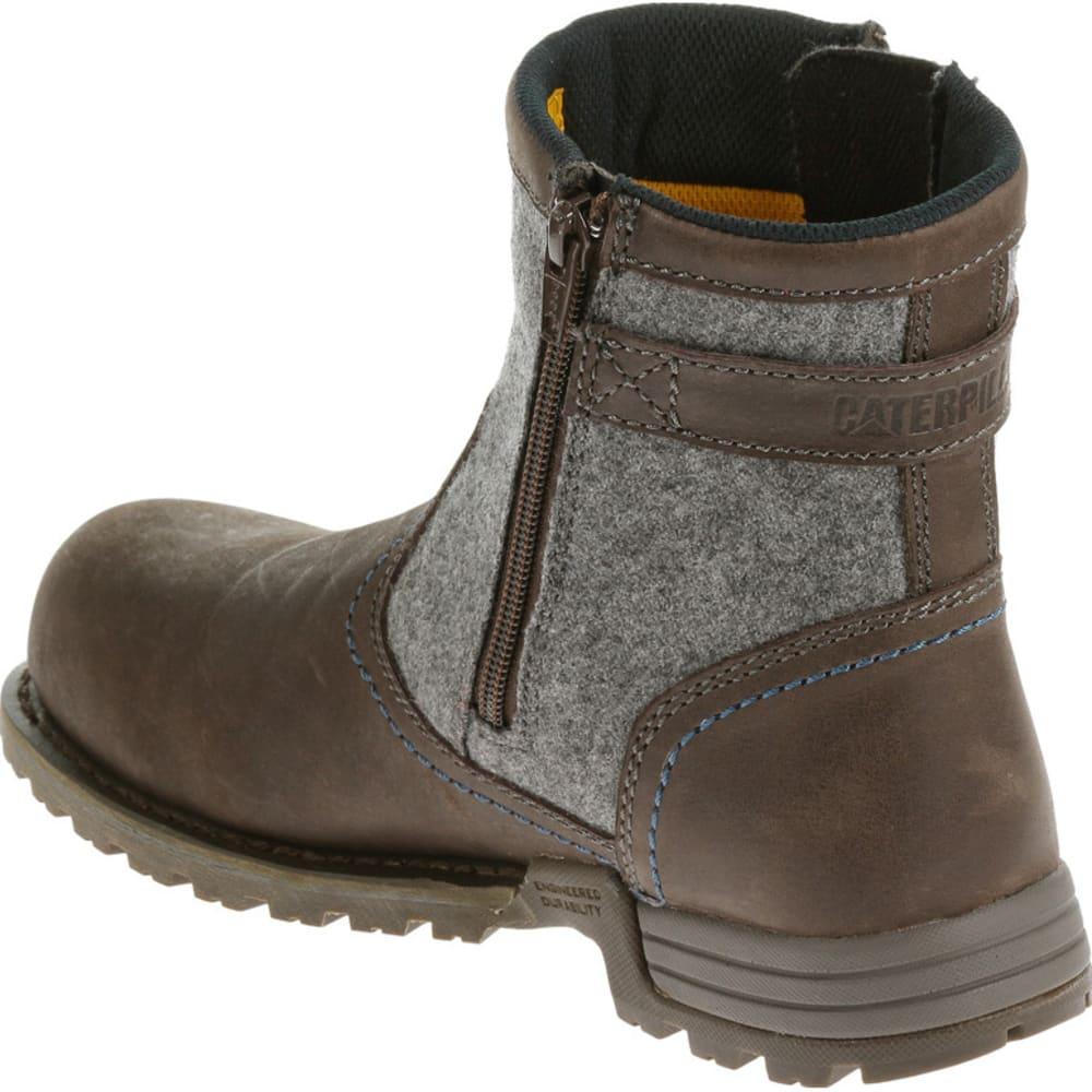 CATERPILLAR Women's Jace Steel Toe Boots - MOREL