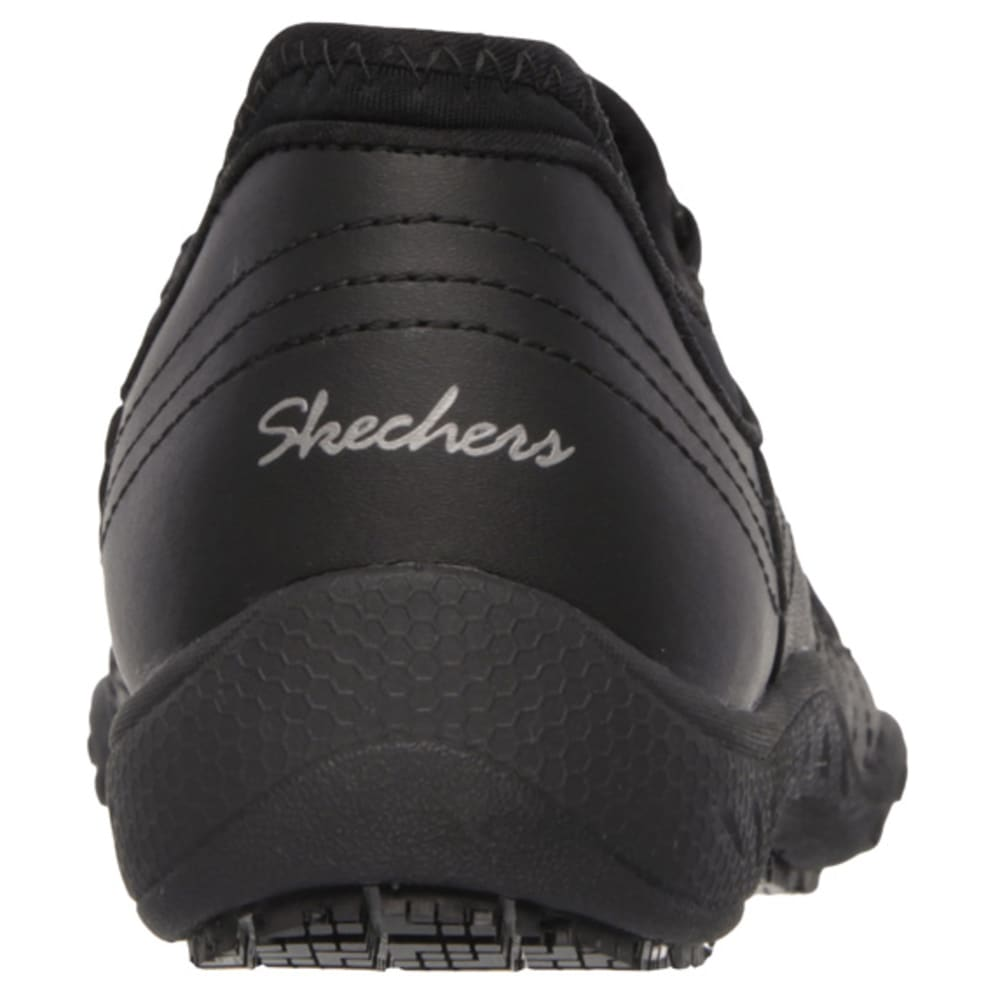 SKECHERS Women's Bungee Slip On Shoes - BLACK/STEEL/TROPICAL