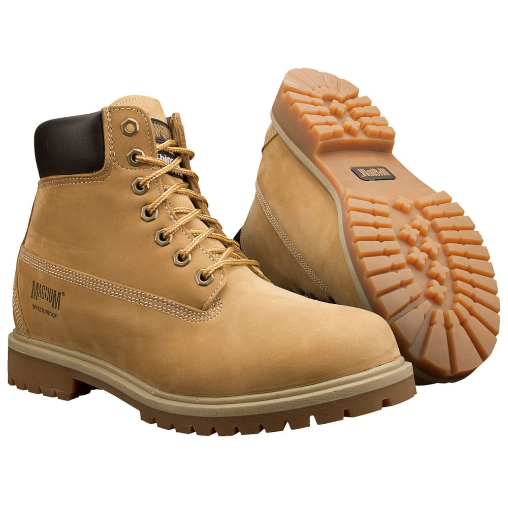 MAGNUM 7817 M Foreman 6 in. Waterproof Boots - Medium Width - TAN