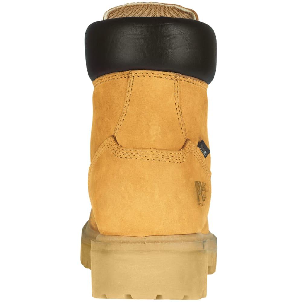 TIMBERLAND PRO Men's Soft Toe Waterproof Work Boots, Medium - WHEAT