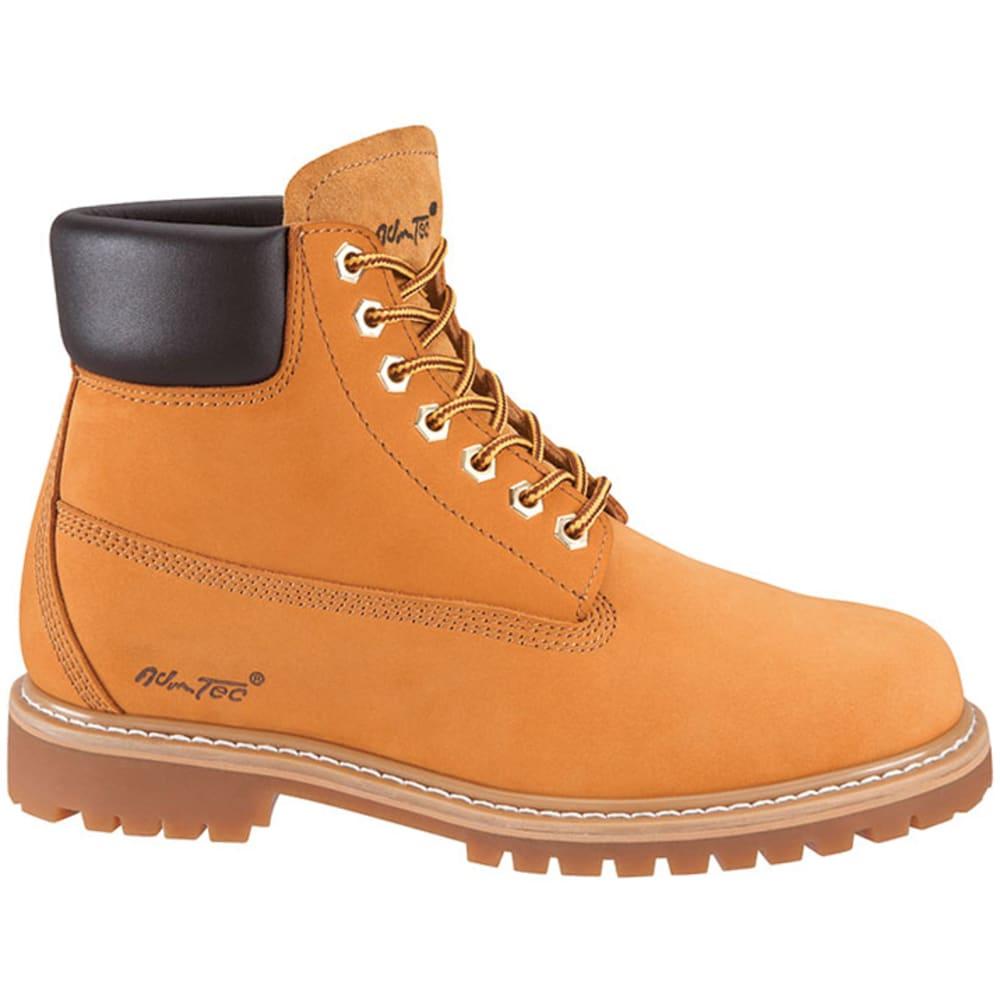 ADTEC Men's 1017 6 in. Work Boots - WHEAT