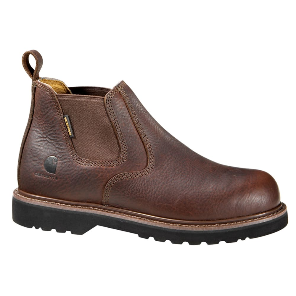 CARHARTT Men's 4-Inch Waterproof Romeos - BROWN