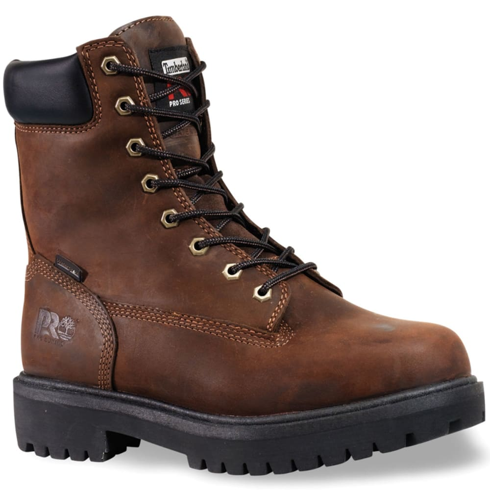 TIMBERLAND PRO Men's Direct Attach Work Boots, Wide - BROWN