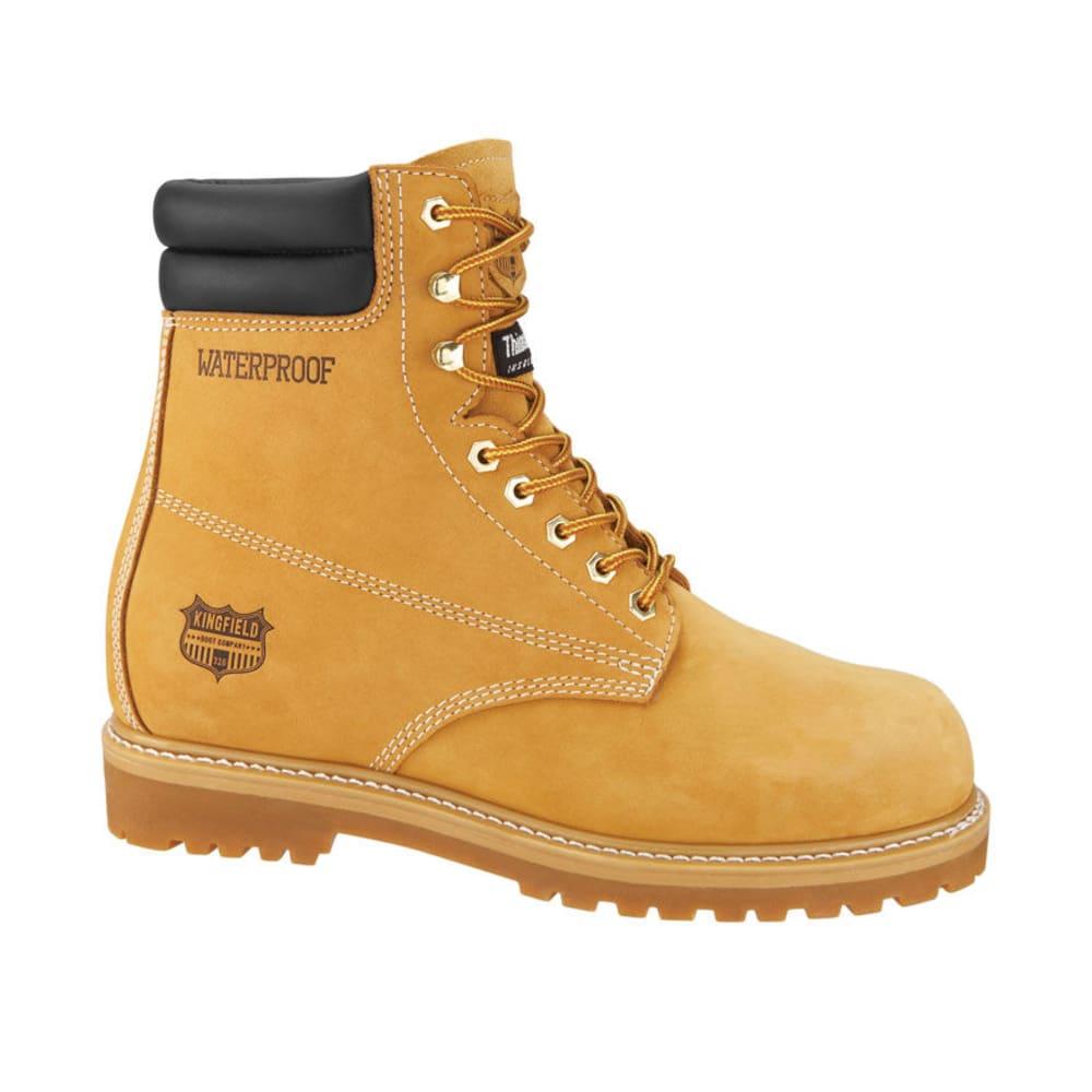 KINGFIELD Men's 8 in. Waterproof Boots - WHEAT