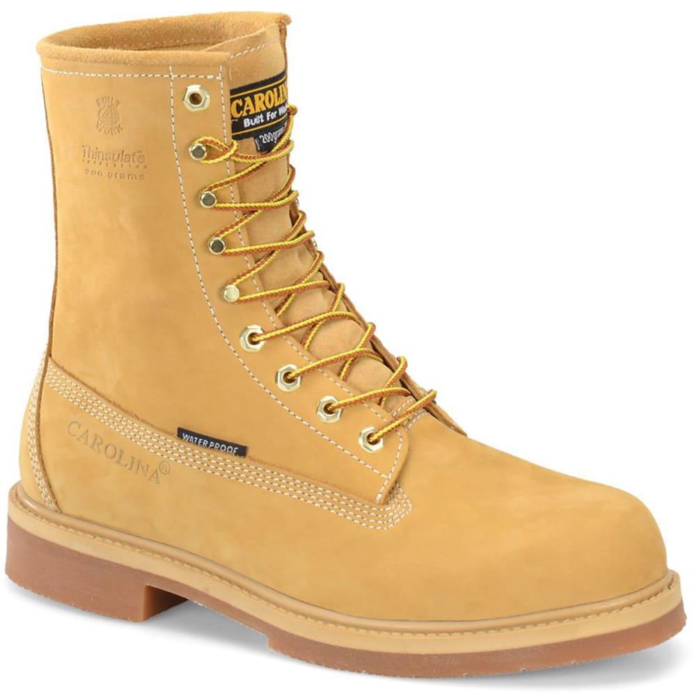 "CAROLINA Men's CA8044 8"" Waterproof Insulated Boots - WHEAT"