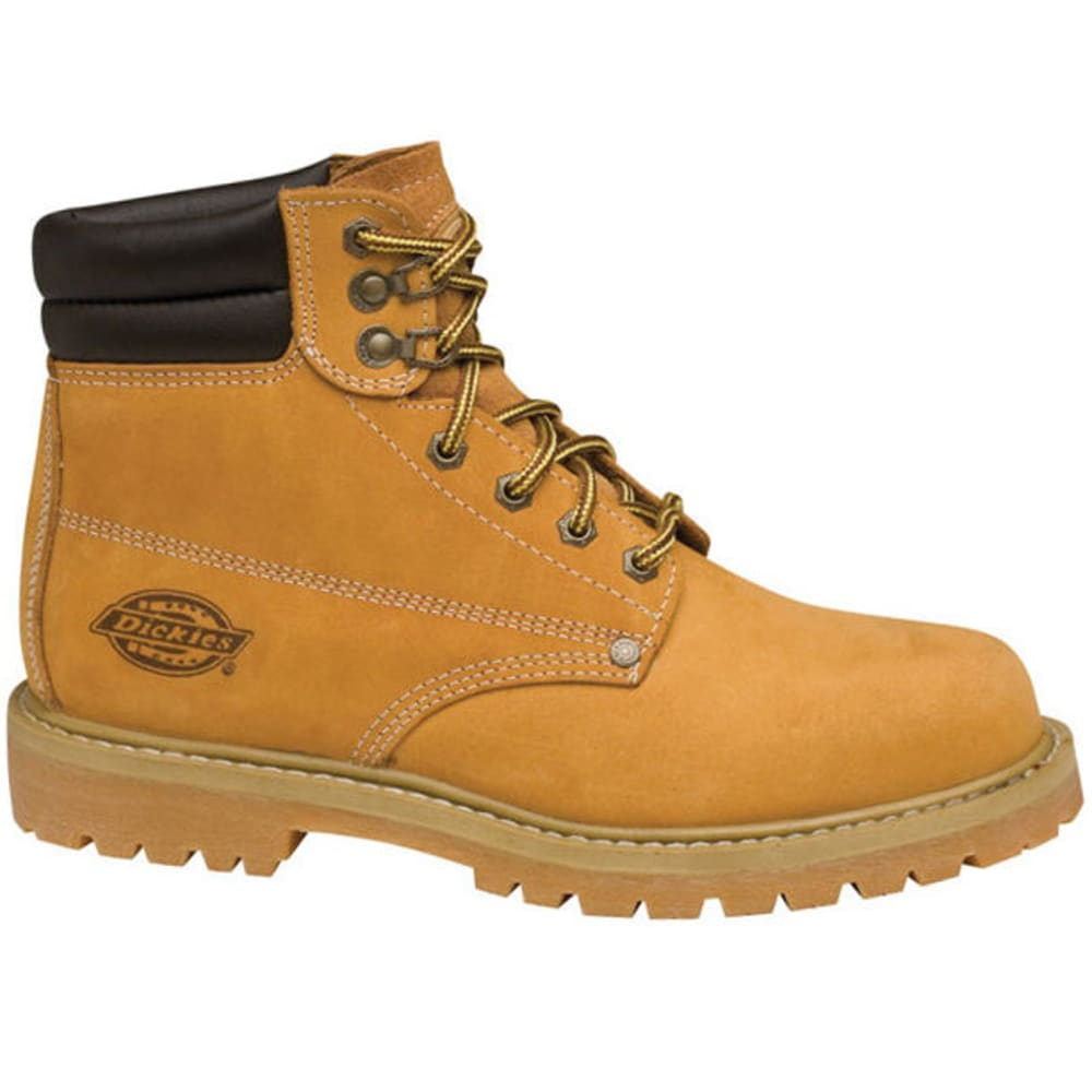 DICKIES Men's Raider Steel Toe Work Boots - WHEAT
