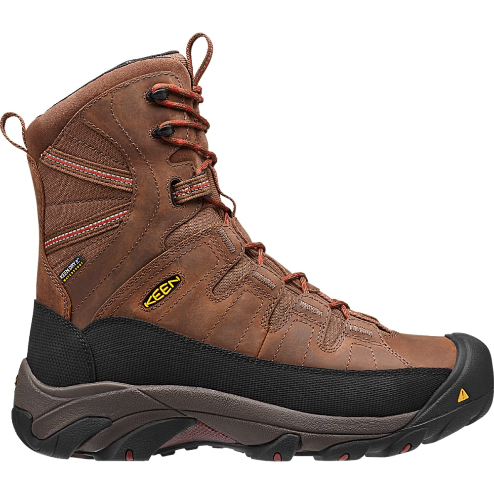 KEEN Men's Minot Insulated Steel Toe Work Boots - CASCADE BROWN