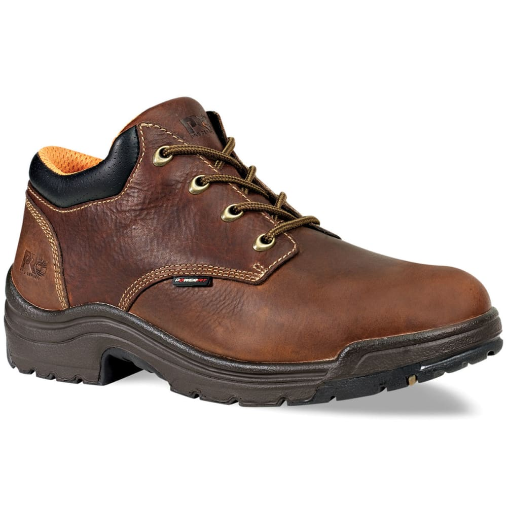 TIMBERLAND PRO Men's Titan Safety Toe Oxford Boots, Medium - PREMIER - BROWN