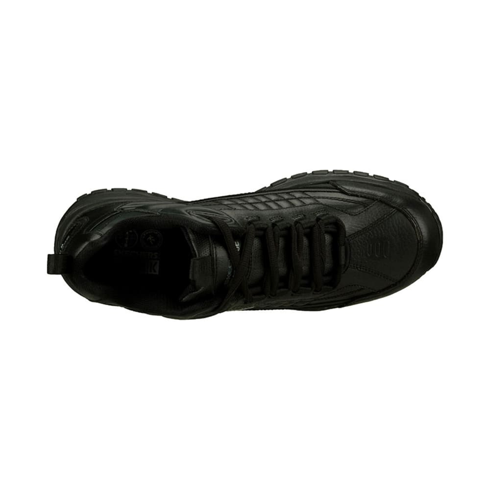 SKECHERS Men's Work Soft Stride Steel Toe Sneakers - BLACK