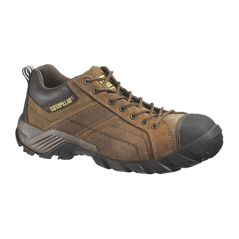 CAT Men's Composite Toe Work Shoes - BROWN