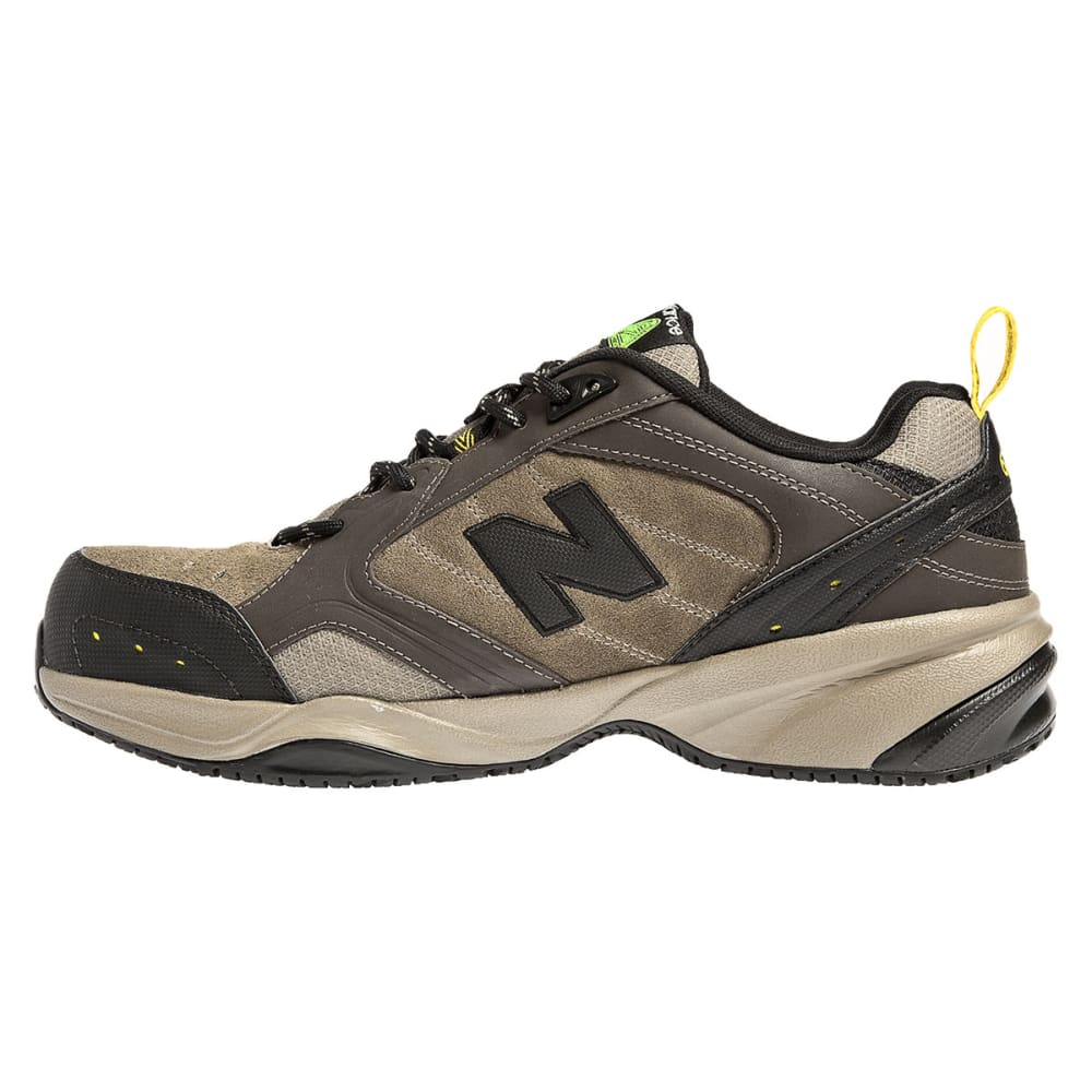 NEW BALANCE Men's 627 Steel Toe Work Shoes - BROWN