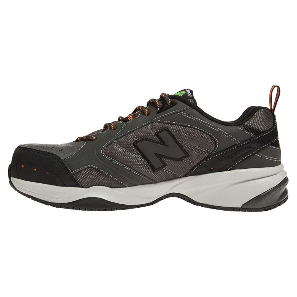 NEW BALANCE Men's 627 Steel Toe Work Shoes - GREY