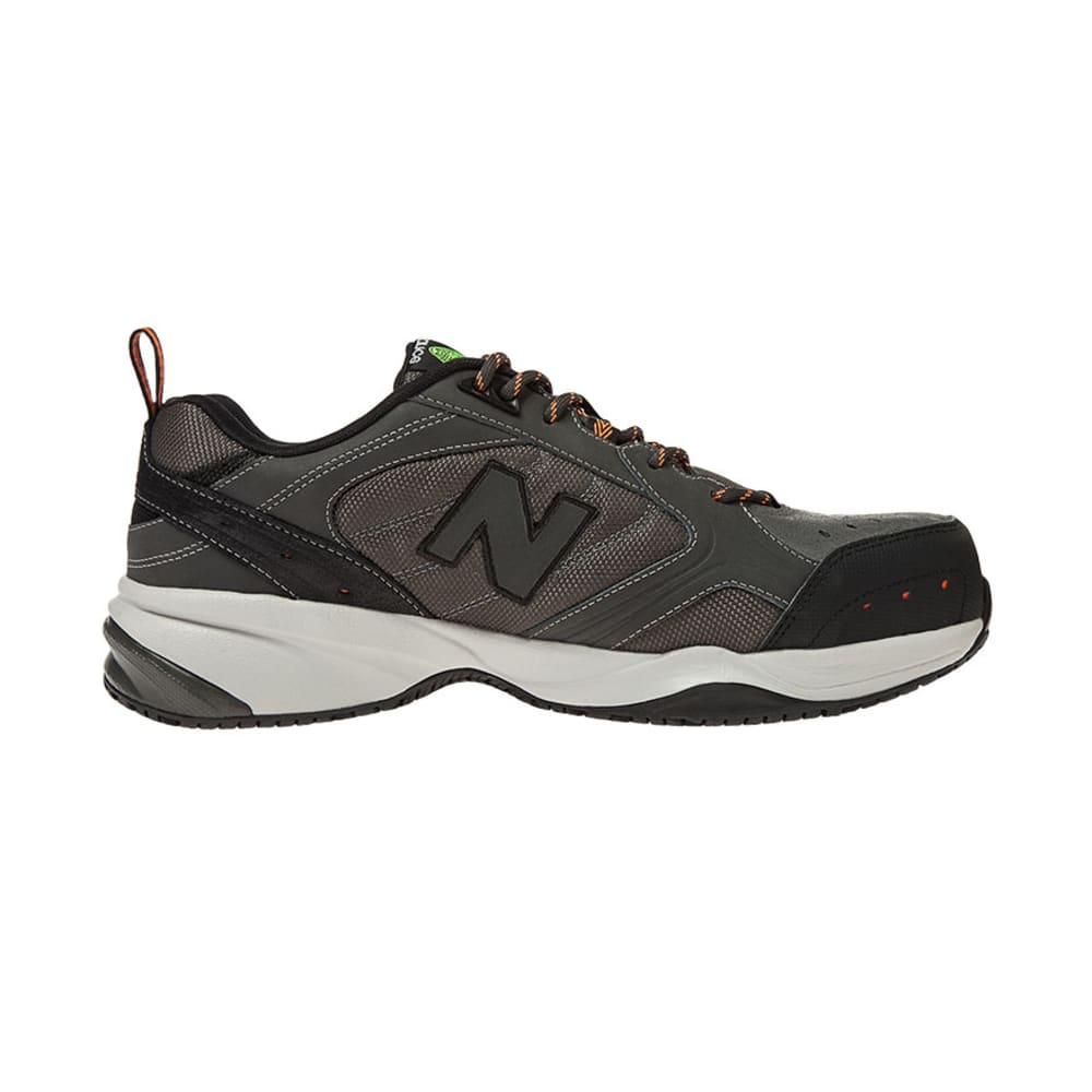 NEW BALANCE Men's 627 Steel Toe Work Shoes - GREY