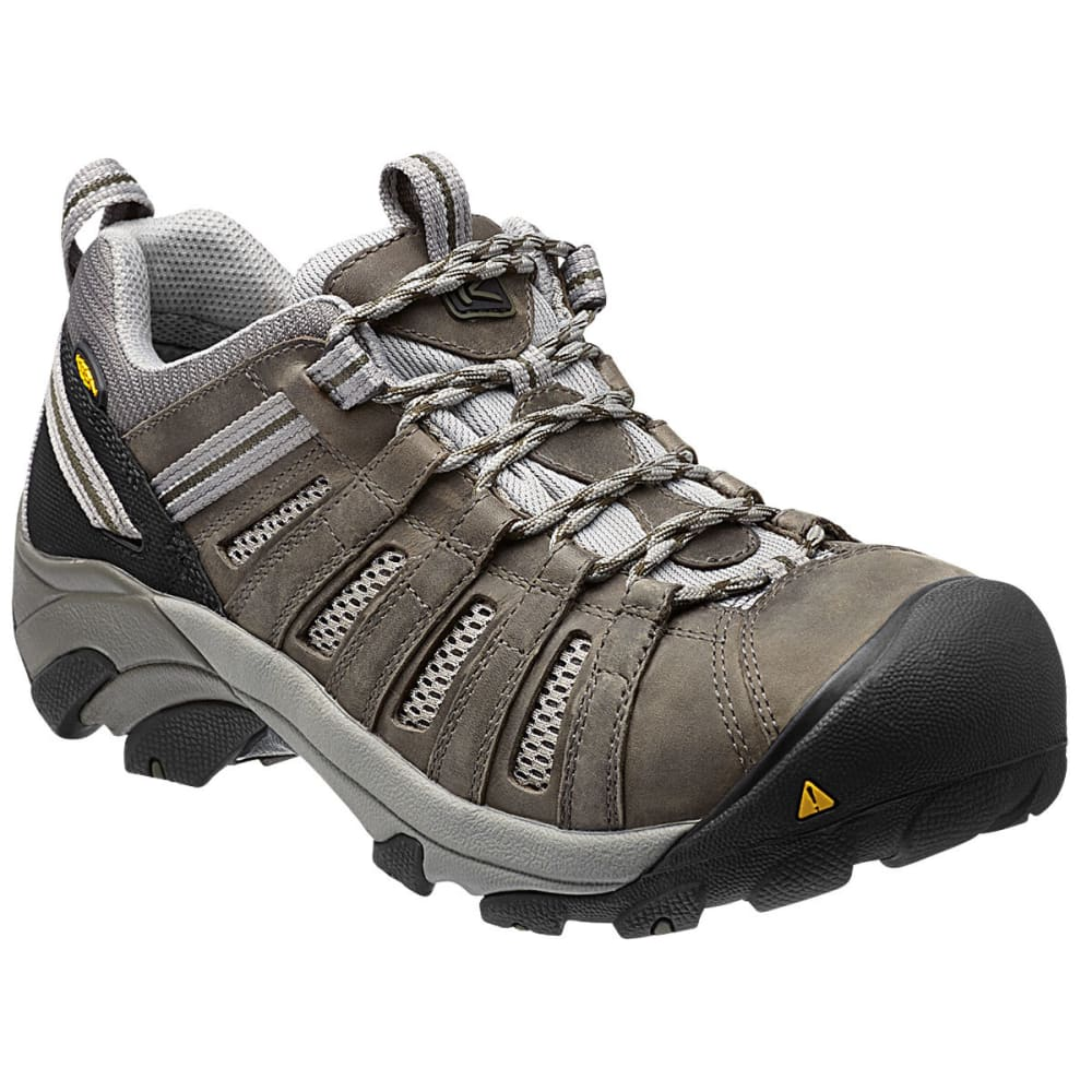 KEEN Men's Flint Low Work Shoes 8