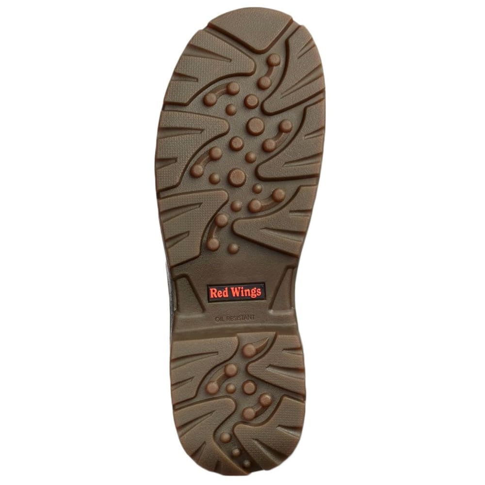 RED WING Men's 8-Inch Waterproof Work Boots - BROWN
