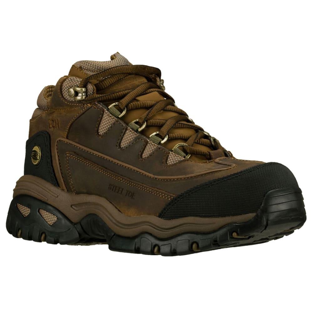 SKECHERS Men's Energy Blue Ridge Boots - CHOCOLATE/BRONZE
