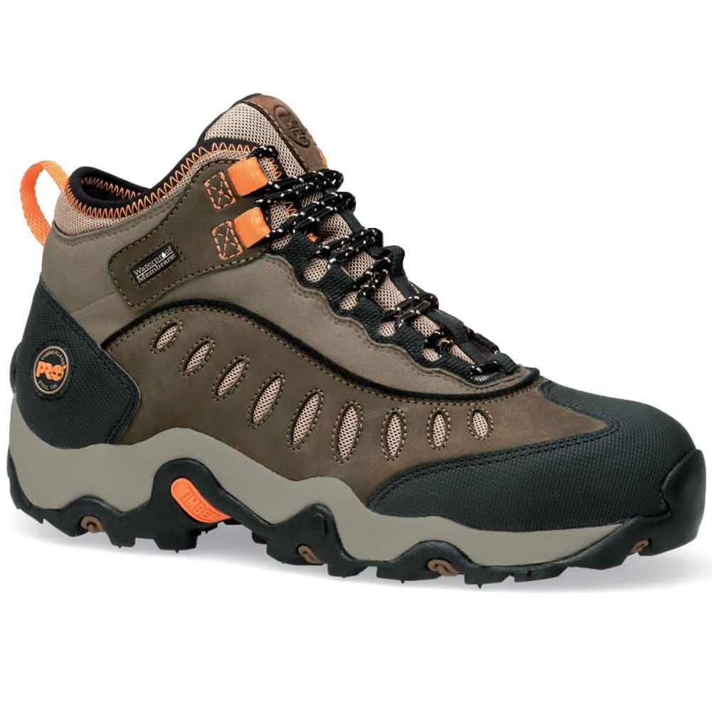 TIMBERLAND PRO Men's Brown Steel Toe Mudslinger Work Boots, Wide - BROWN