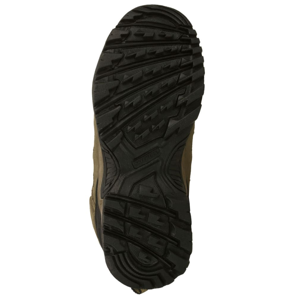 SKECHERS Men's Stampede Steel Toe Hiker Boots - COCOA