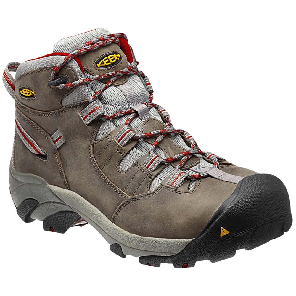 KEEN Men's Detroit Mid Waterproof Steel Toe Hiking Boots 8.5