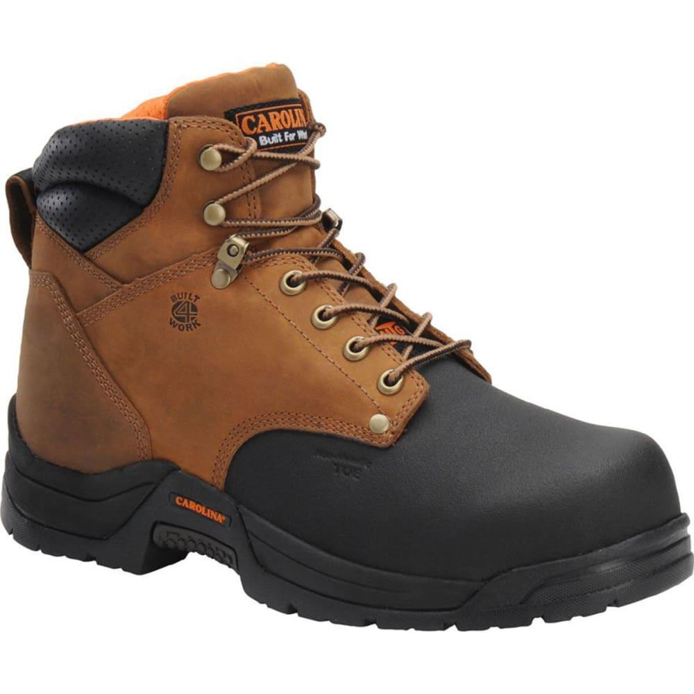 "CAROLINA Men's CA5582 6"" Composite Toe Metguard Work Boots, Copper Crazy Horse - BROWN"