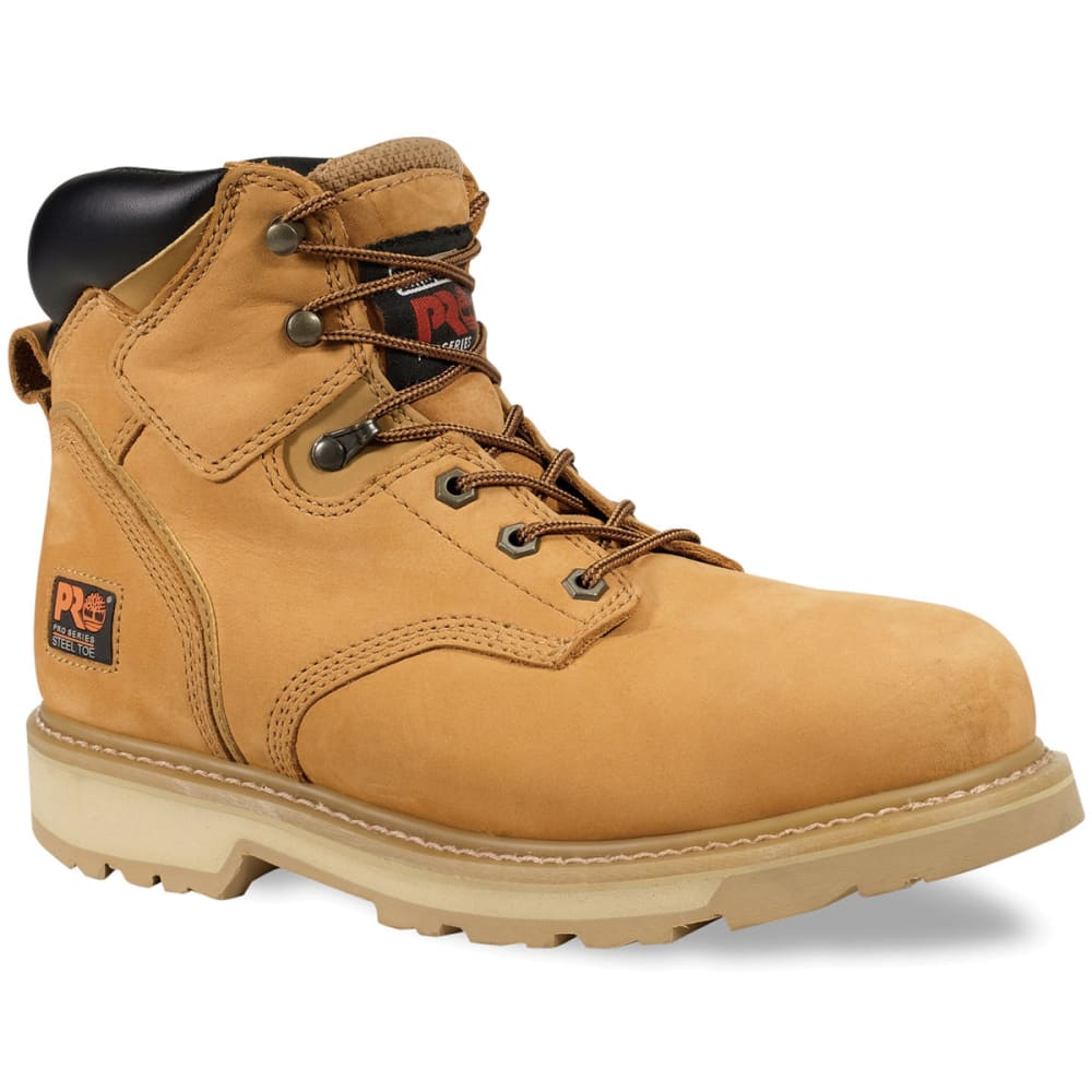 TIMBERLAND PRO Men's Pit Boss Soft Toe Work Boots, Medium - WHEAT