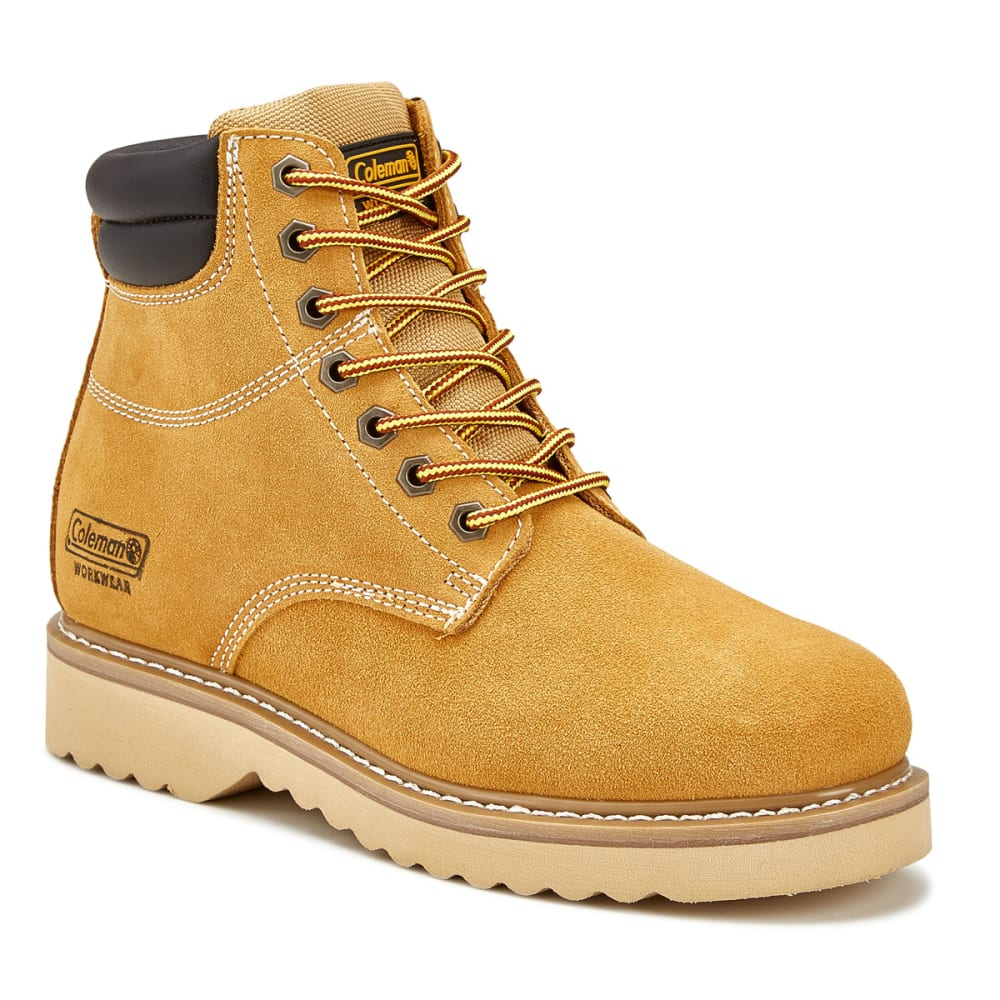 COLEMAN Men's Workman Work Boots - WHEAT