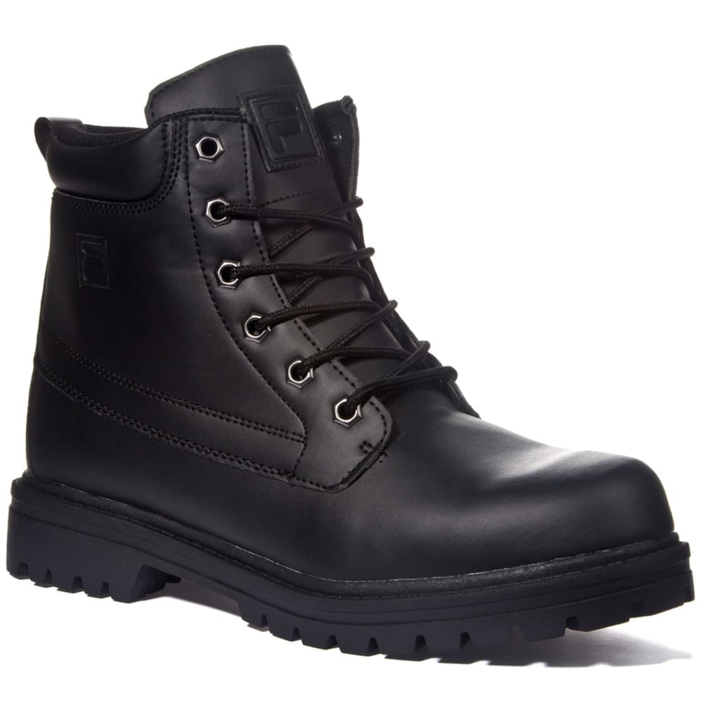 FILA Men's Edgewater 12 Work Boots - BLACK