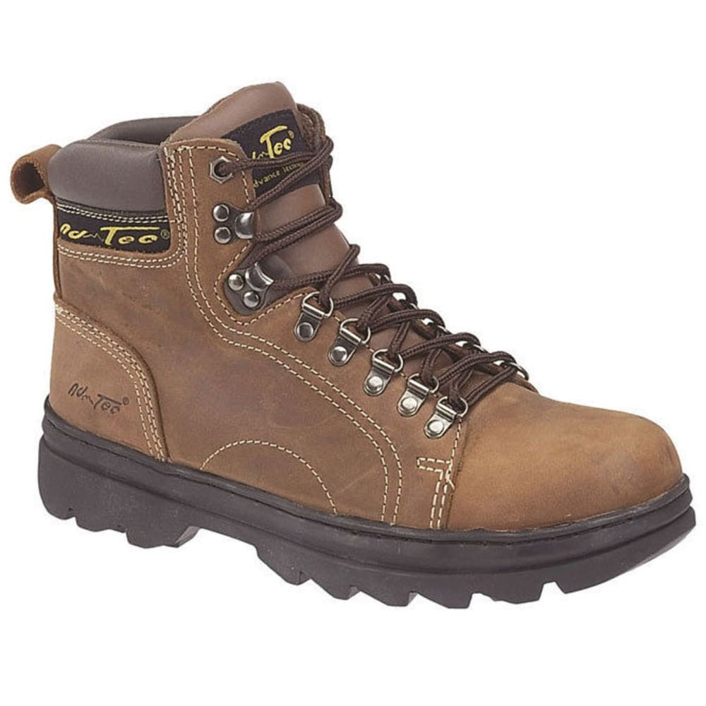 ADTEC Men's 6 in. 1987 Work Boots - SMOKEY BROWN/OLIVE