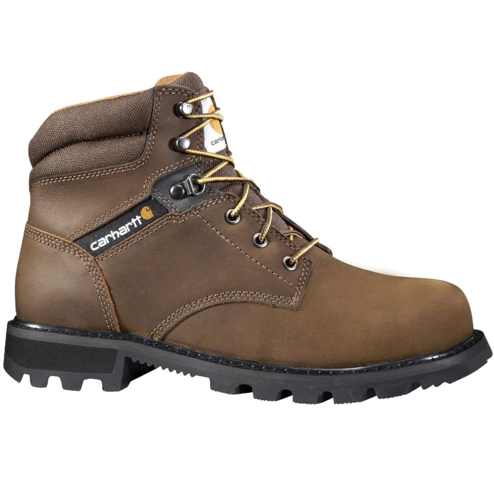 CARHARTT Men's 6-Inch Traditional Work Boots - DK BROWN OIL TANNED