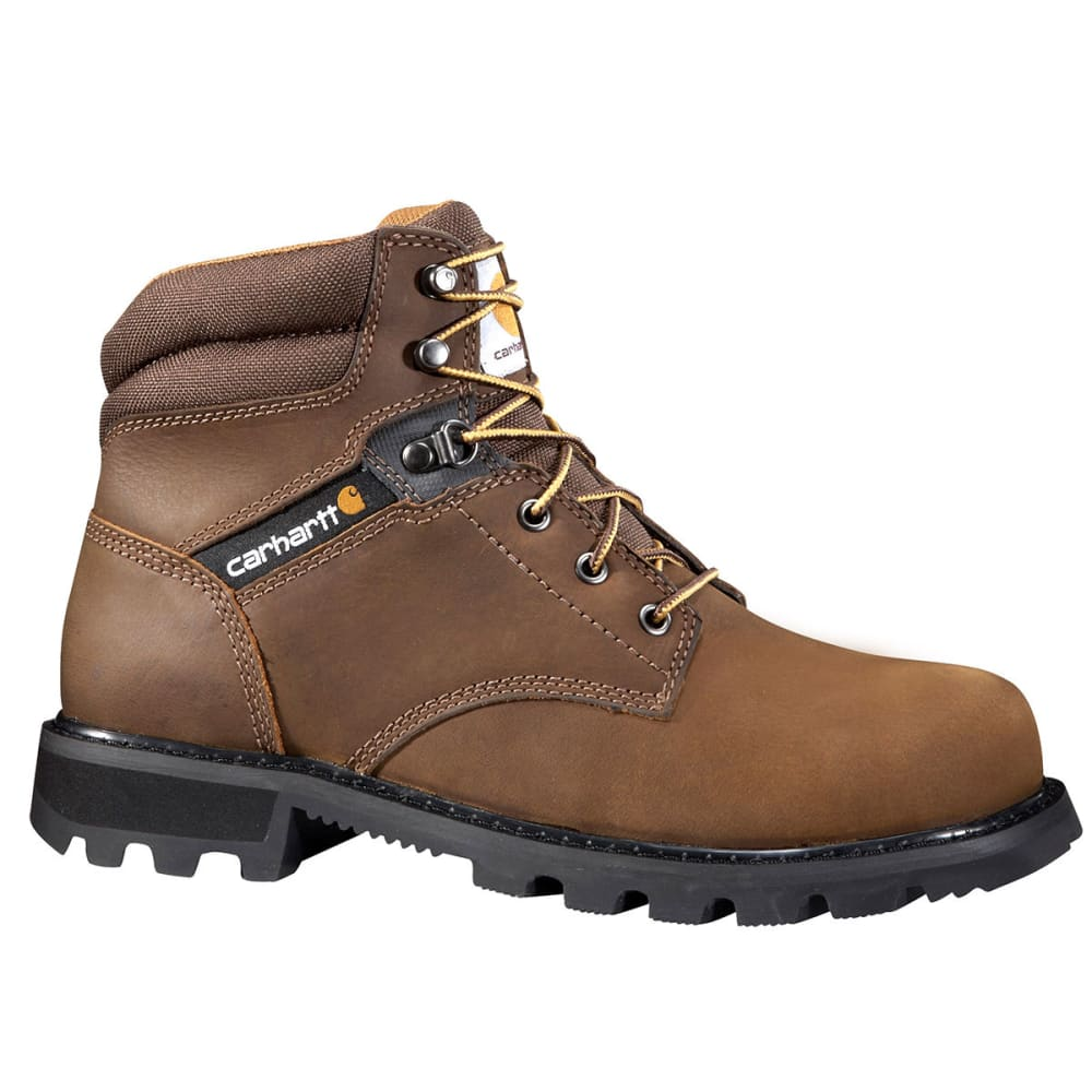 CARHARTT Men's 6-Inch Traditional Welt Work Boots, Wide - BROWN