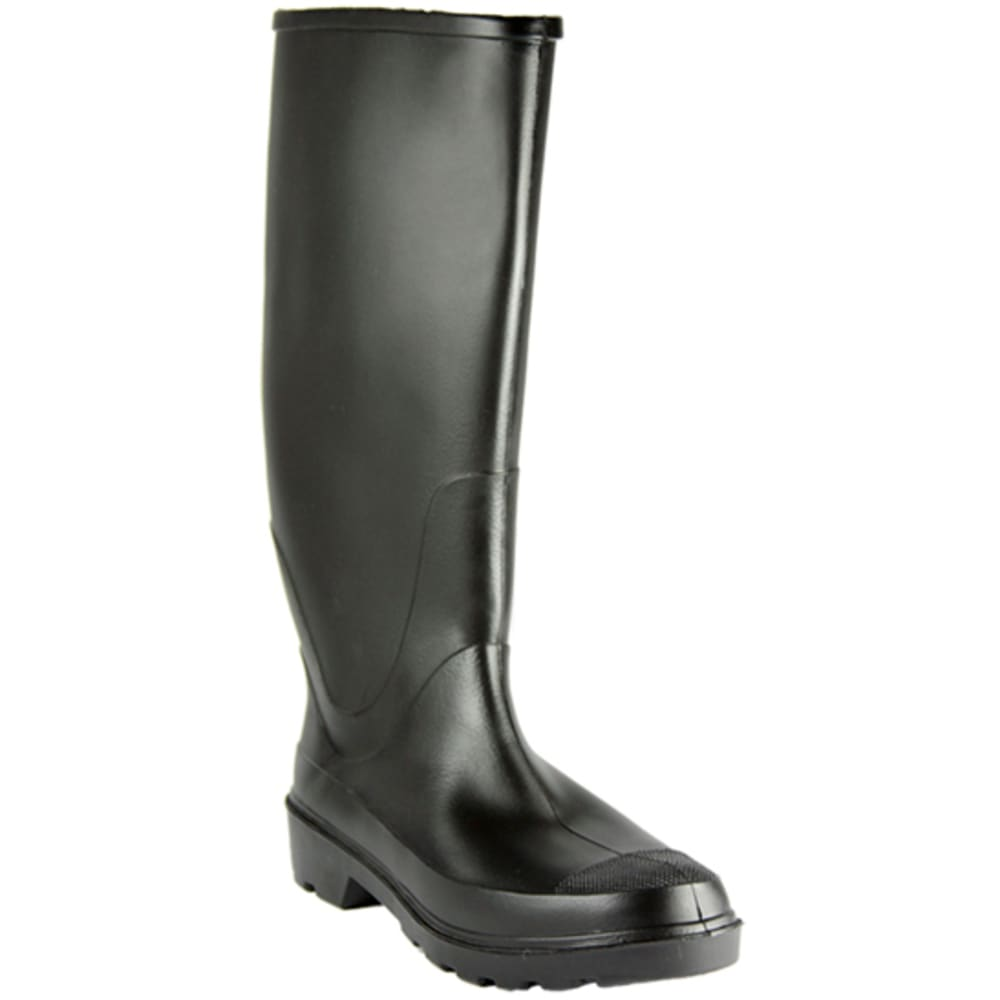 HEARTLAND FOOTWEAR Men's General Purpose Industrial Rubber Boots - BLACK
