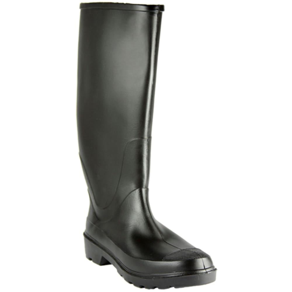 HEARTLAND FOOTWEAR Men's General Purpose Industrial Rubber Boots - BLACK
