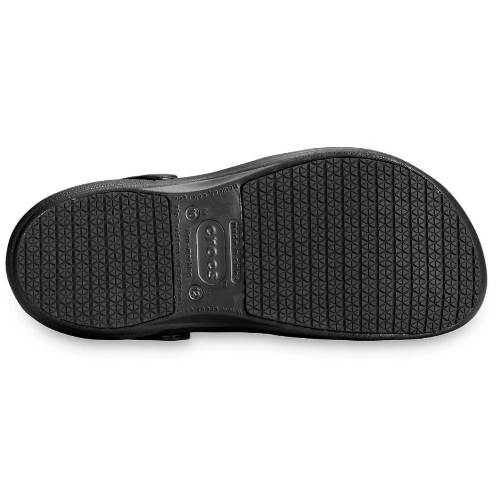 CROCS Men's Bistro Clogs - BLACK