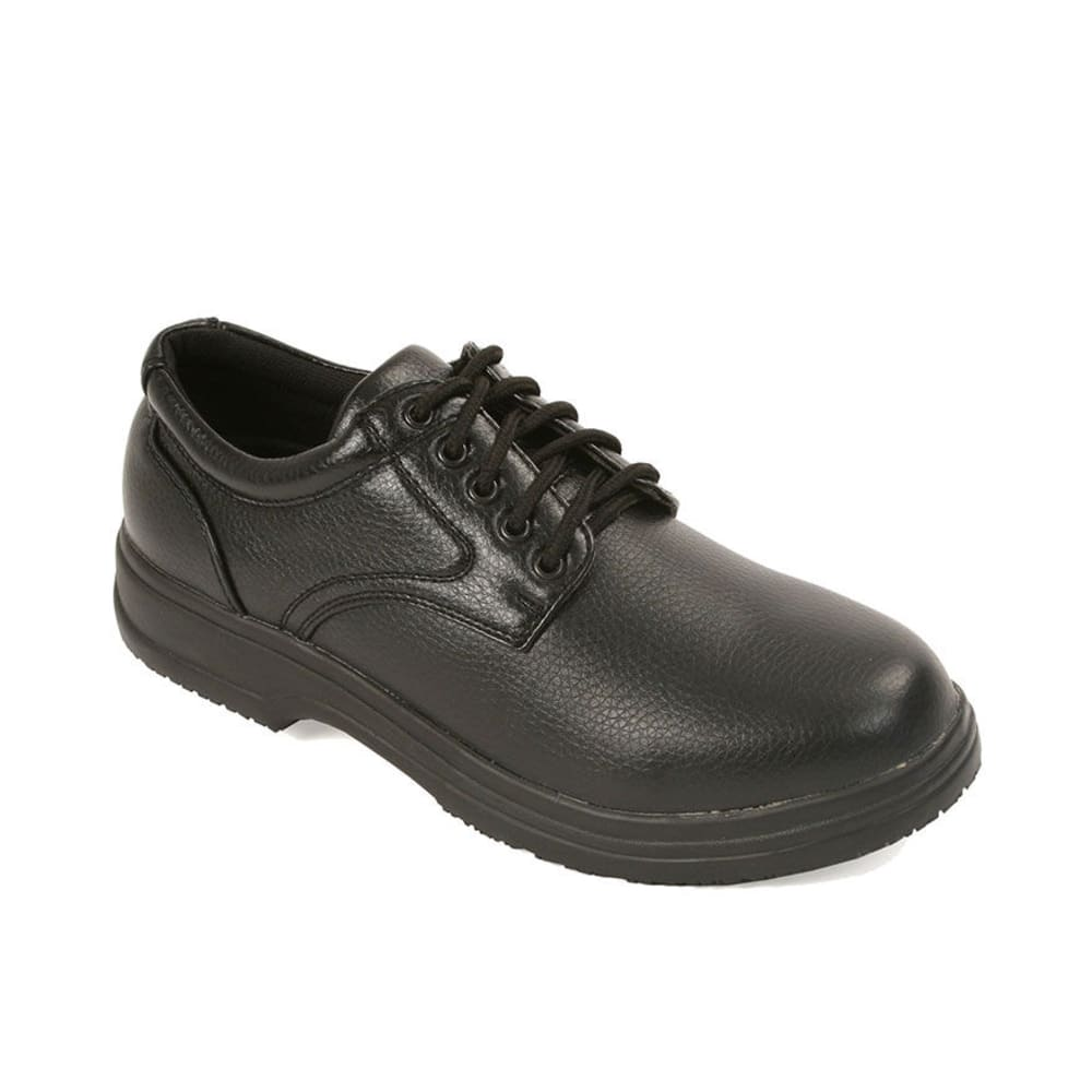 DEER STAGS Men's Service Shoes, Medium Width - BLACK