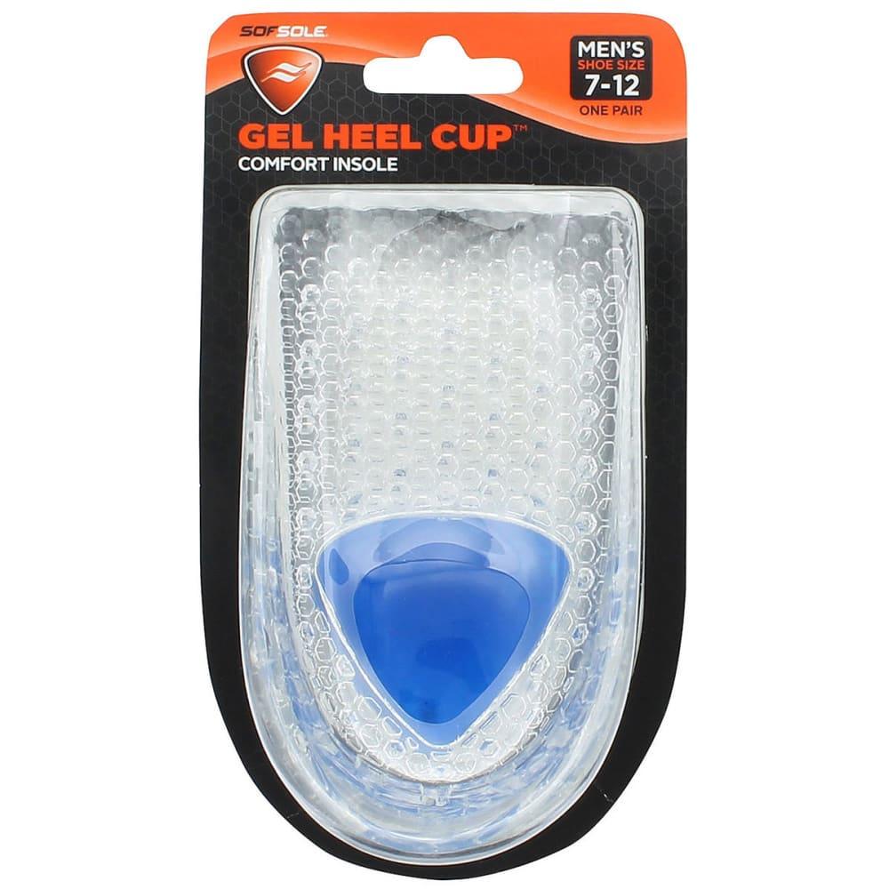 SOF SOLE Men's Gel Heel Cup Insoles - ASST