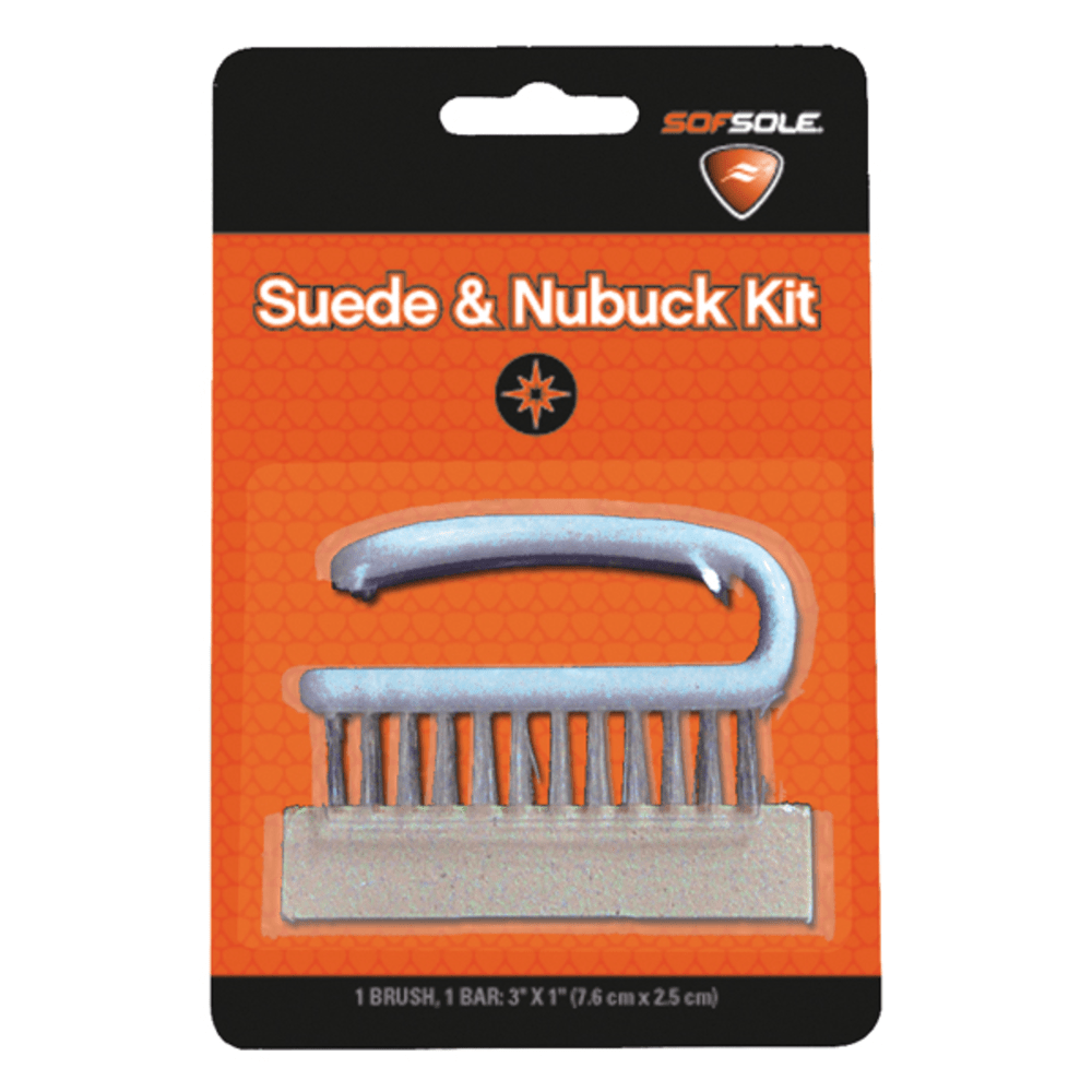 SOF SOLE Suede & Nubuck Brush Kit ONE SIZE