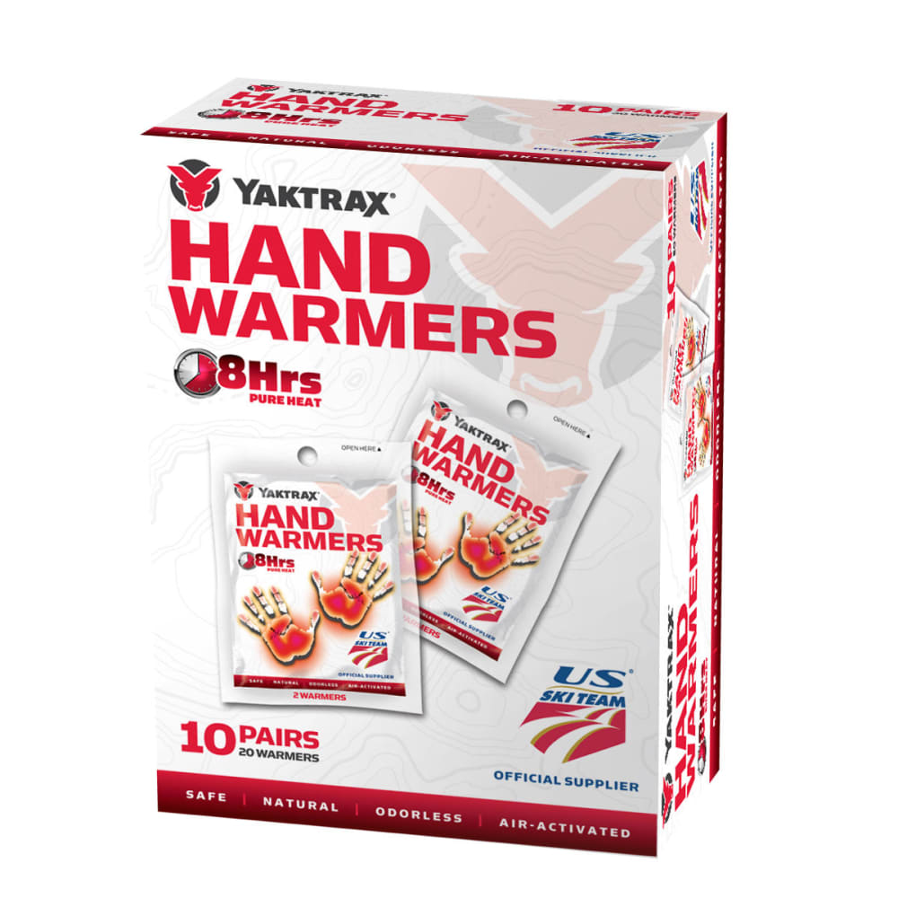 YAKTRAX Hand Warmers, 10-Pack NO SIZE