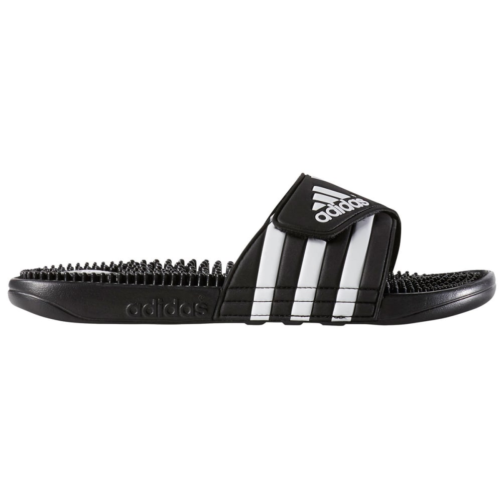 ADIDAS Women's Adissage Slides - BLACK/WHITE -087609