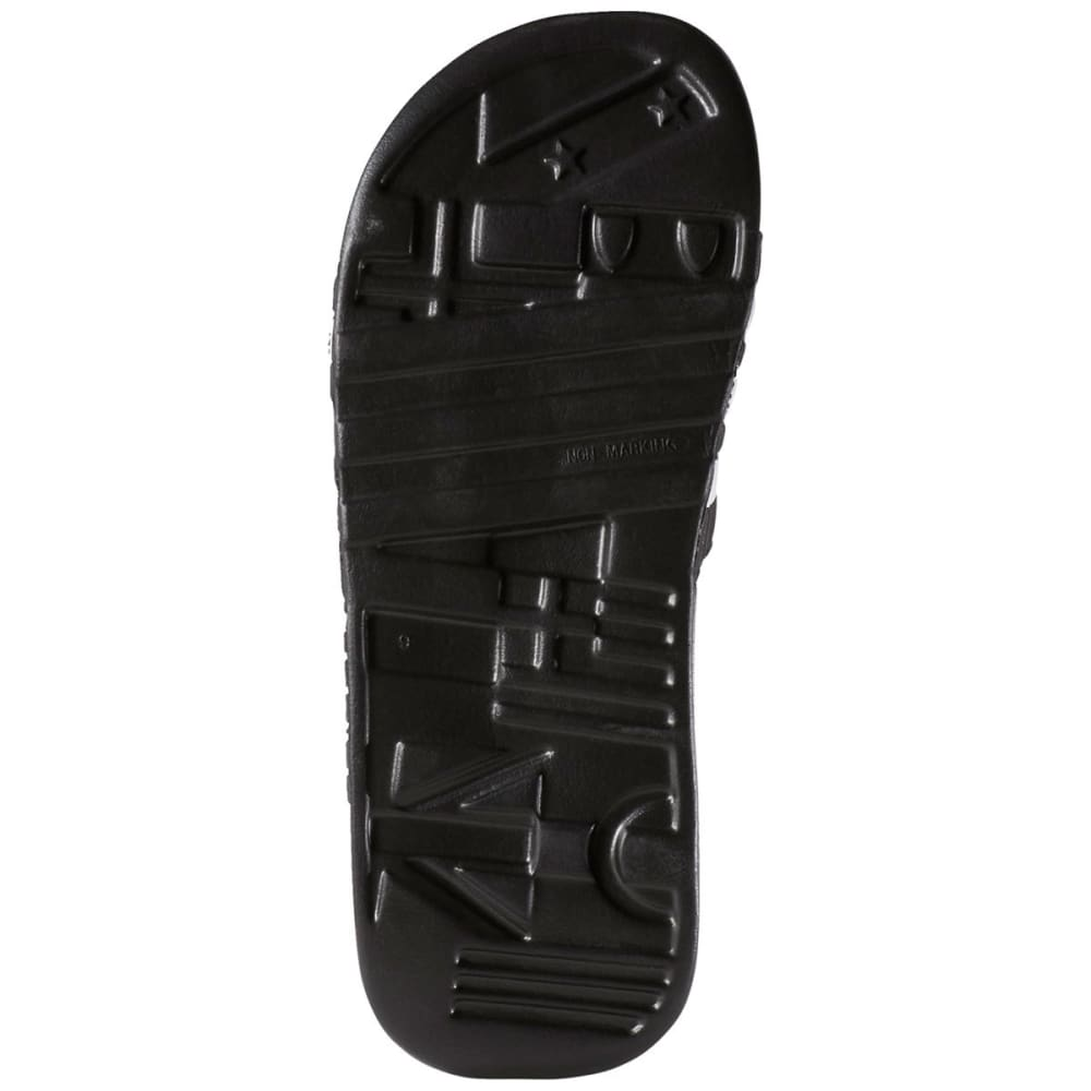 ADIDAS Juniors' Adissage Slides - BLACK/WHITE -087609