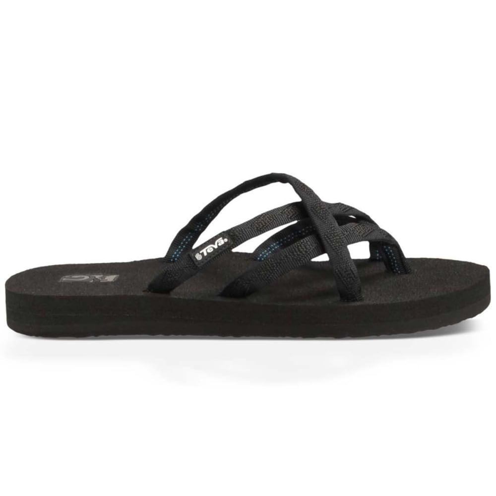 TEVA Women's Olowahu Sandals - BLACK MIX B BLK