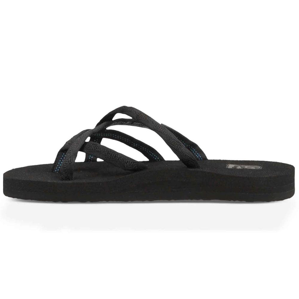 TEVA Women's Olowahu Sandals - MIX B BLK N BLK-MBOB
