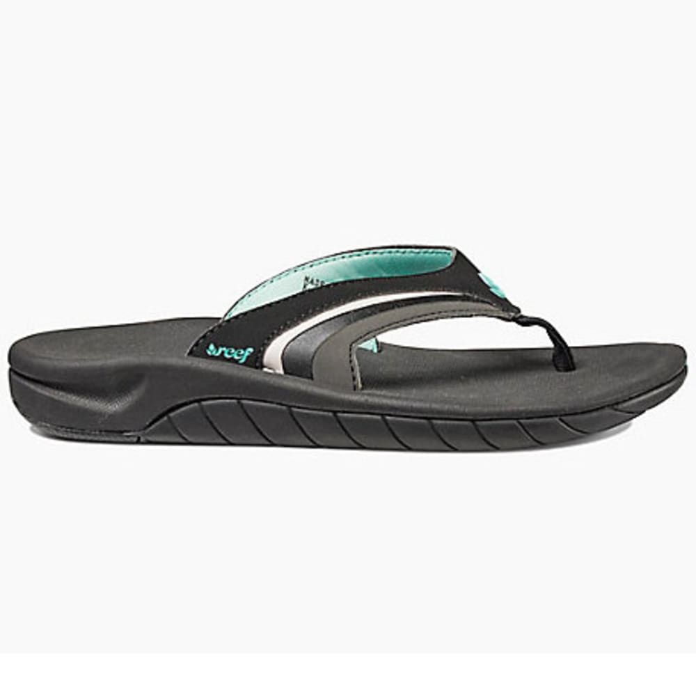 REEF Women's Slap 3 Flip-Flops - BLACK-BKQ