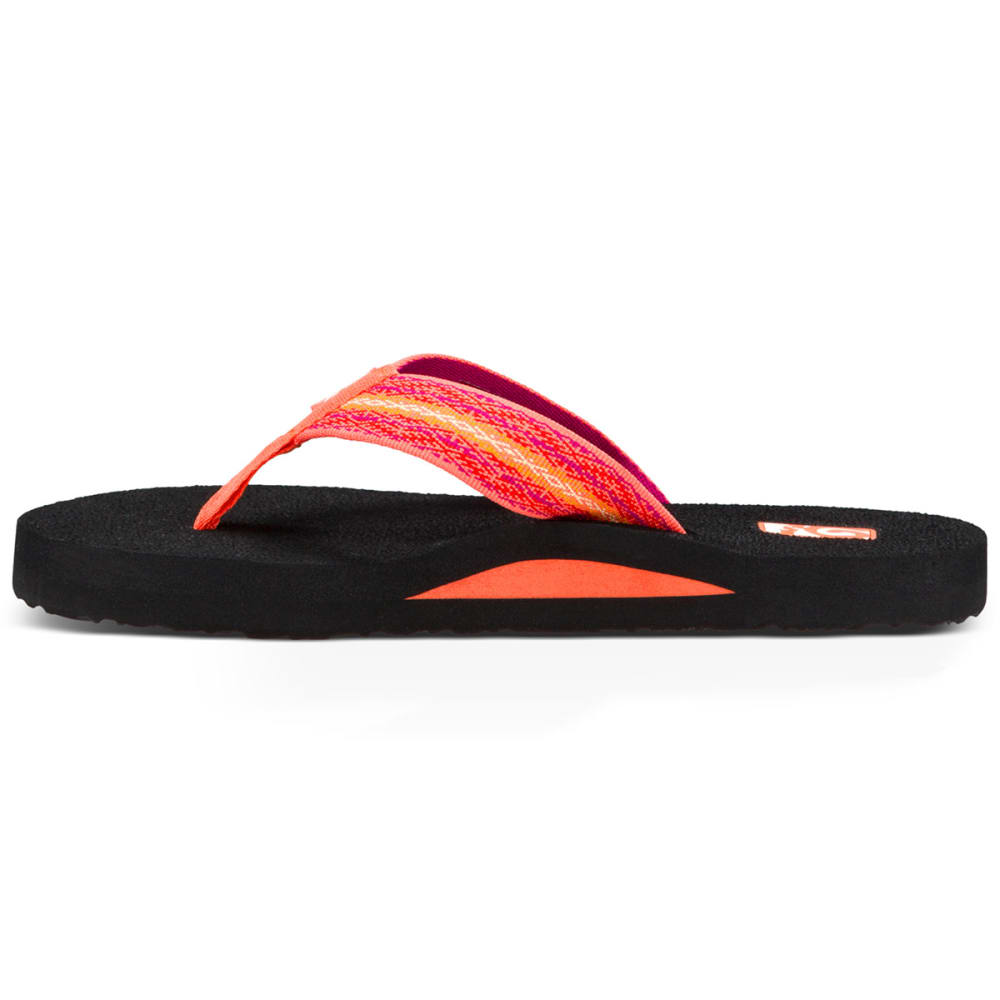TEVA Women's Mush II Flip Flops - CORAL