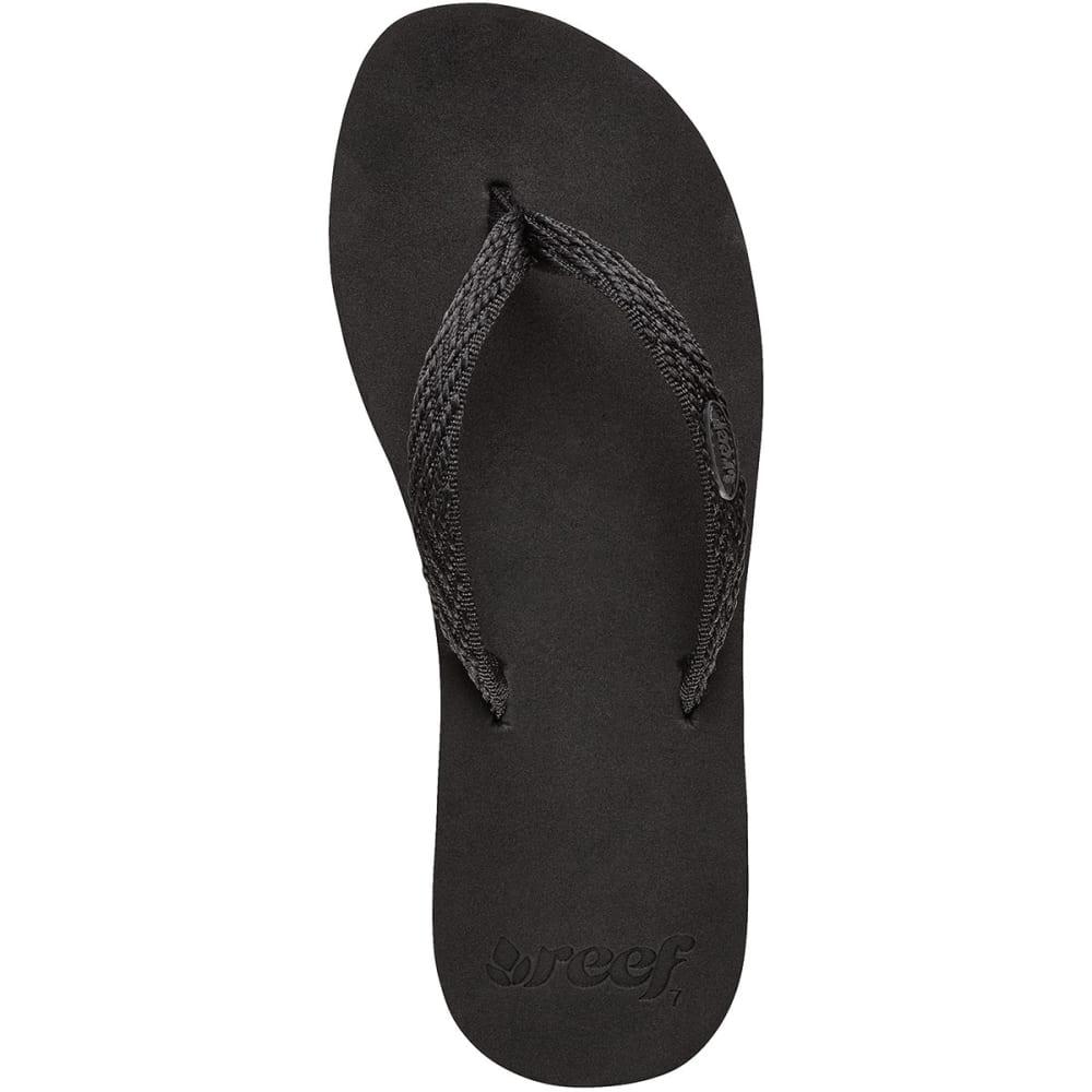REEF Women's Ginger Drift Sandals - BLACK