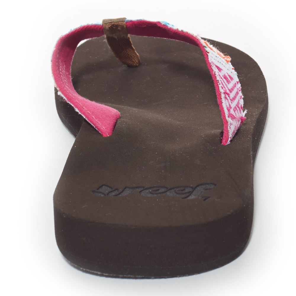 REEF Juniors' Midday Tides Sandals - PINK