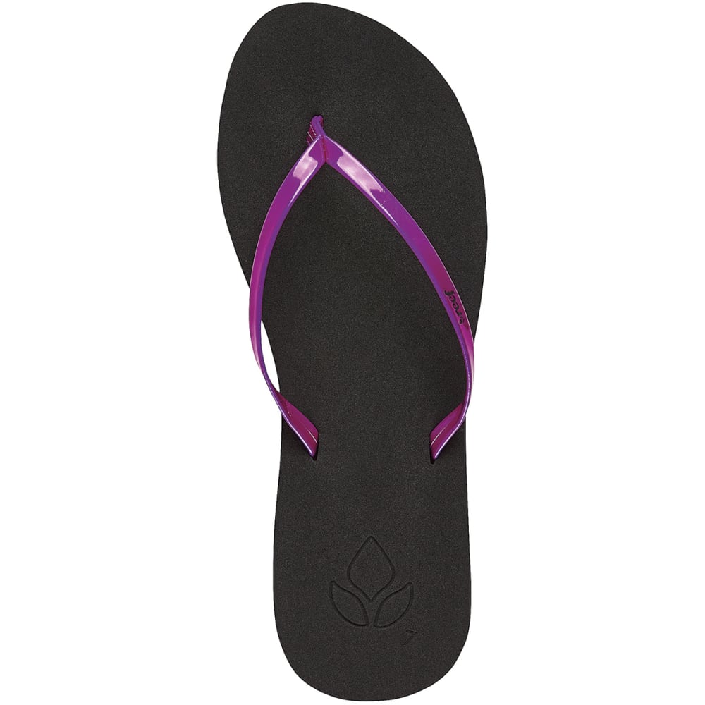 REEF Juniors' Bliss Sandals - NEON PURPLE