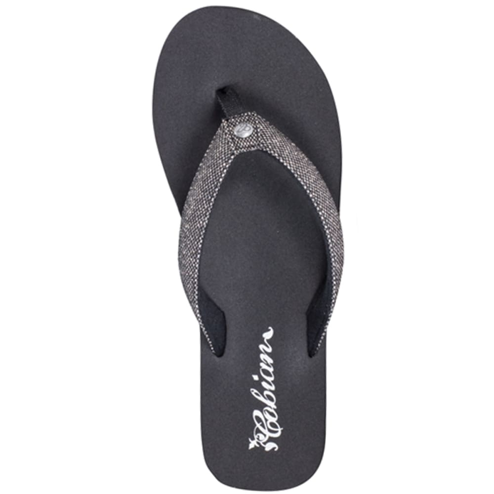 Cobian Juniors Fiesta Bounce Sandals - Black, 6