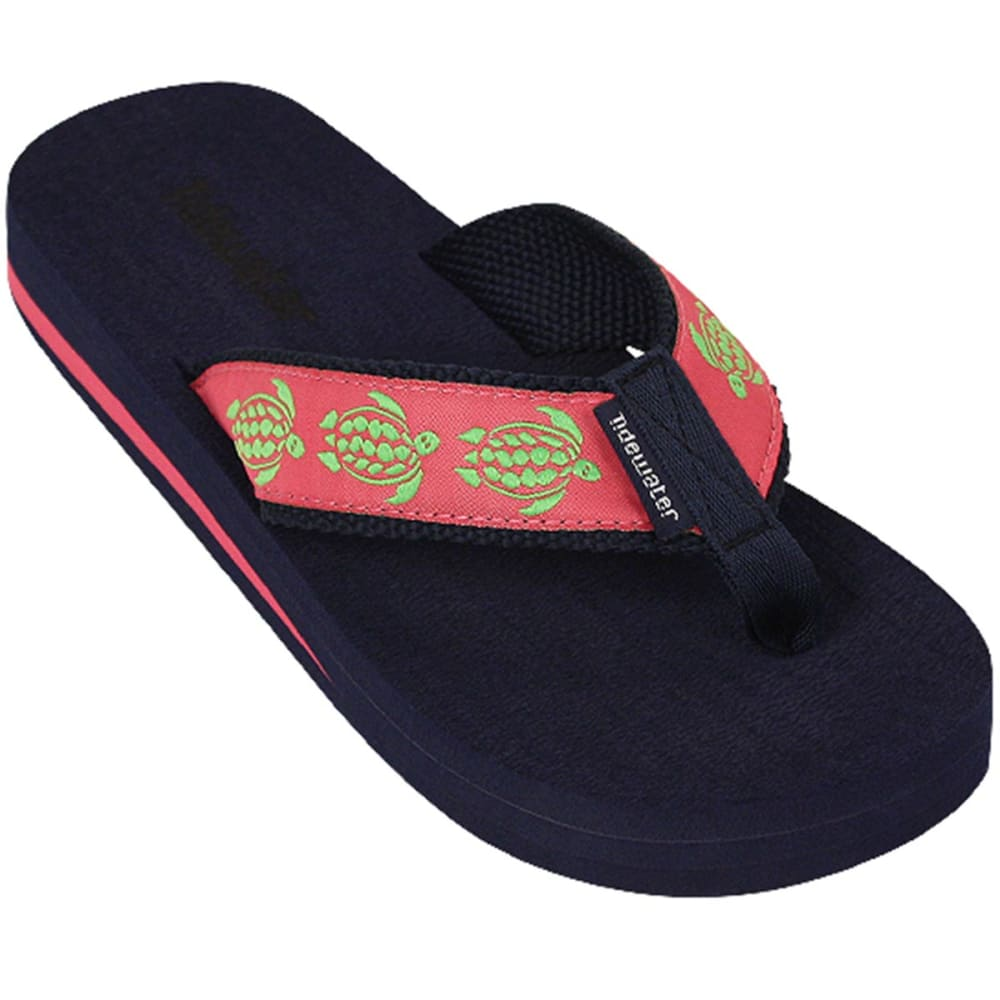 TIDEWATER Women's Flip Flop Thong - TURTLES