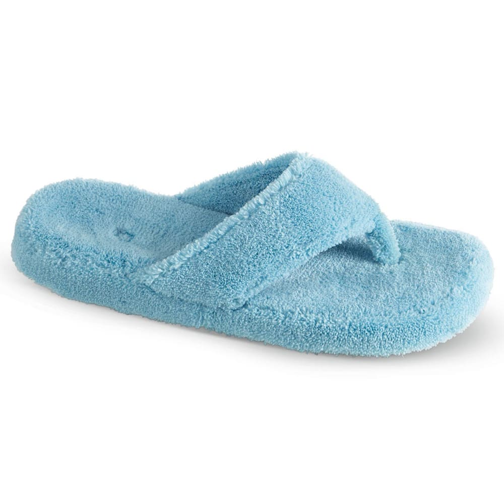 ACORN Women's New Spa Thong Slippers - TURQUOISE
