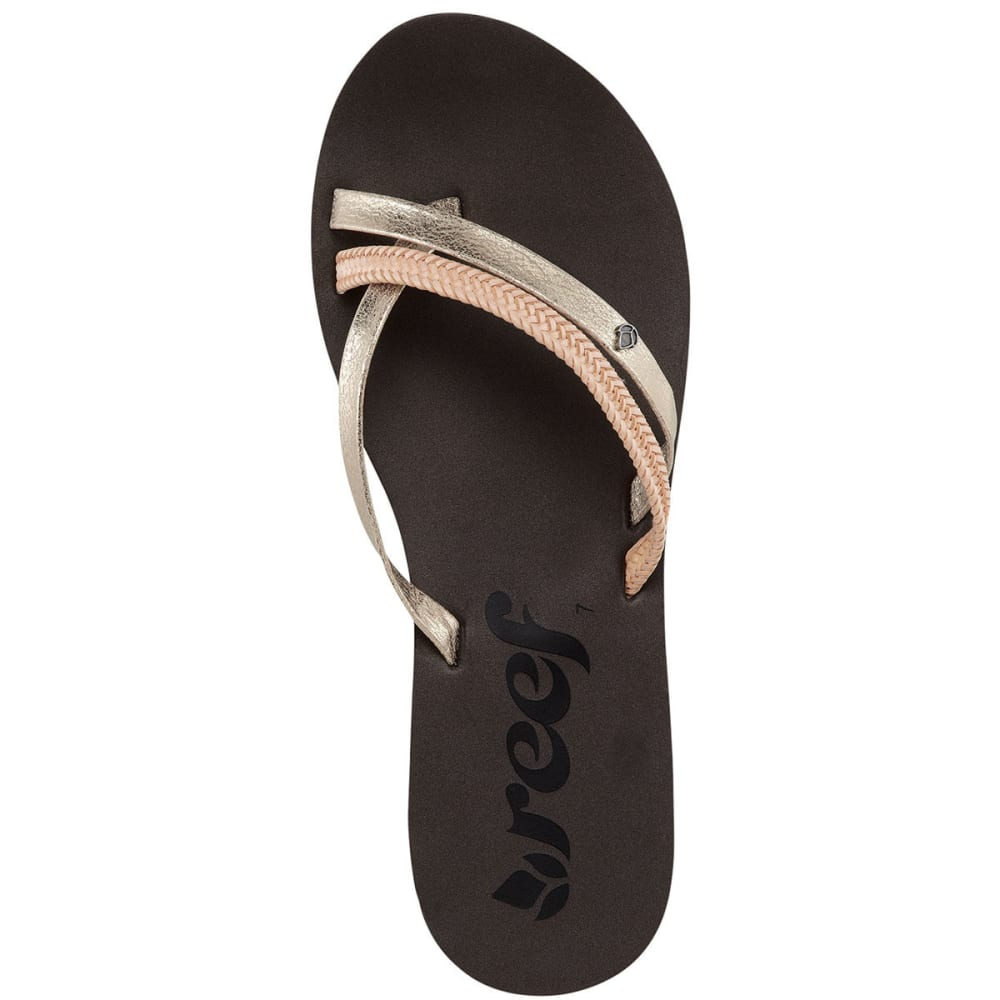 REEF Women's O'Contrare LX Sandals - GOLD